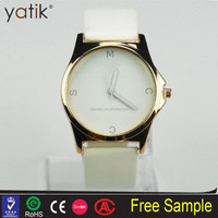 Lady PU Leather mj watches marc by Women fashion dress watch cheap price wholesale