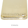 100% real gold Full housing kit for iphone 5 mirror shiny gold with diamond, for iphone 5s gold 24ct