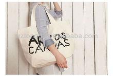 2014 promotional cotton bag/cotton shopping bag/cotton tote bag