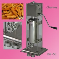 304 Stainless Steel machine churros with fryer