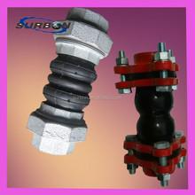 Galvanized Union epdm rubber flexible connector