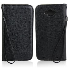 Hot selling for Motorola Moto Droid leather wallet cover stand case with card slot