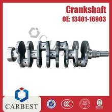 High Quality Steel Engine Parts Crankshaft 7A OE: 1340116903 for Toyota