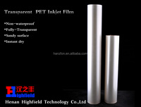 Clear Mylar Film Coated For Screen Printing