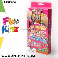 Kids Craft DIY Girls Toys Tassel Jewelry Kits