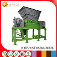 Open Top Plastic Recycling Machinery Recycling Clothes Hangzhou