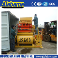 JS500 China suppliers automatic concrete mixer self loading,bearing for concrete mixer