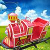 High quality electric toy train sets fun ride road train for amus park