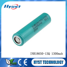 Wholesale price Samsung INR18650 1300mah Samsung INR18650-13Q rechargeable battery