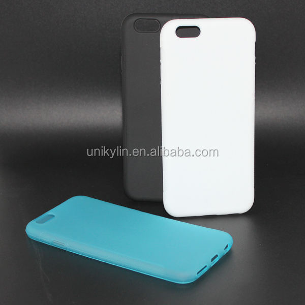 Ultra Thin mobile phone TPU case for iphone6 case