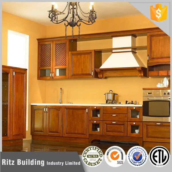 Full customized portable knock down kitchen cabinets for Kitchen set portable