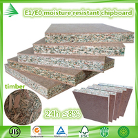 E1 /E0 kitchen cabinets manufacturing 18MM highly moisture resistant particle board
