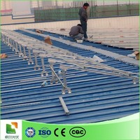high efficiency and low price solar module structure support roof solar panel