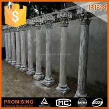 Interior and Outdoor decorative cantera natural stone column molds