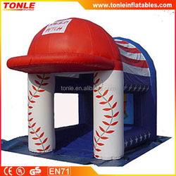 hot sale Baseball Speed Pitch w/ Radar Inflatable Sports Game for kids and adult