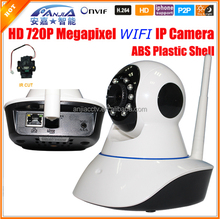 MJPEG Home Security Pan Tilt Wireless Video Camera IP with Microphone