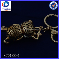 Novelty Creative Open your legs Fancy shaped Metal keychains