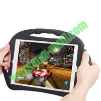 High Quality Steering Wheel Style Silicone Handle Case for iPad Air