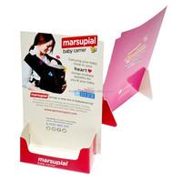 Custom Designed Cheap cardboard business card display for advertising