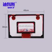 New Design Bulk Sale Mini Basketball Board Colored Red
