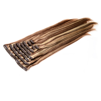 Alibaba Wholesale Cheap 100% Remy Hair Clip In Hair Extension 200gram Double Drawn Clip Hair Small Quantity Online Factory Price