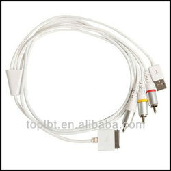 lbt16vt Absolute 30-pin to usb rca audio video cable with high quality