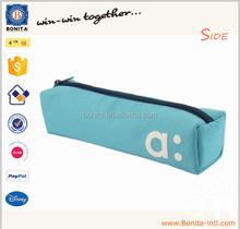 2015 Stylish students zipper colour pencil bag pencil case for kids