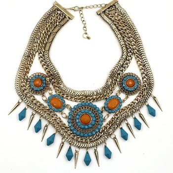 Wholesale Chunky Fashion Necklaces Wholesale fashion necklace