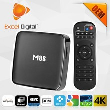 2015 Newest M8S TV Box With Amlogic S812 2G 8G Wifi 5G 4K2K Android4.4 OS Customized Kodi Skin addons for M8S