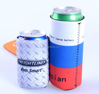 customized printed neoprene beer can cooler