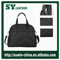 3d gun bag 2015 fashion bag New PU leather faux leather women bags handbag