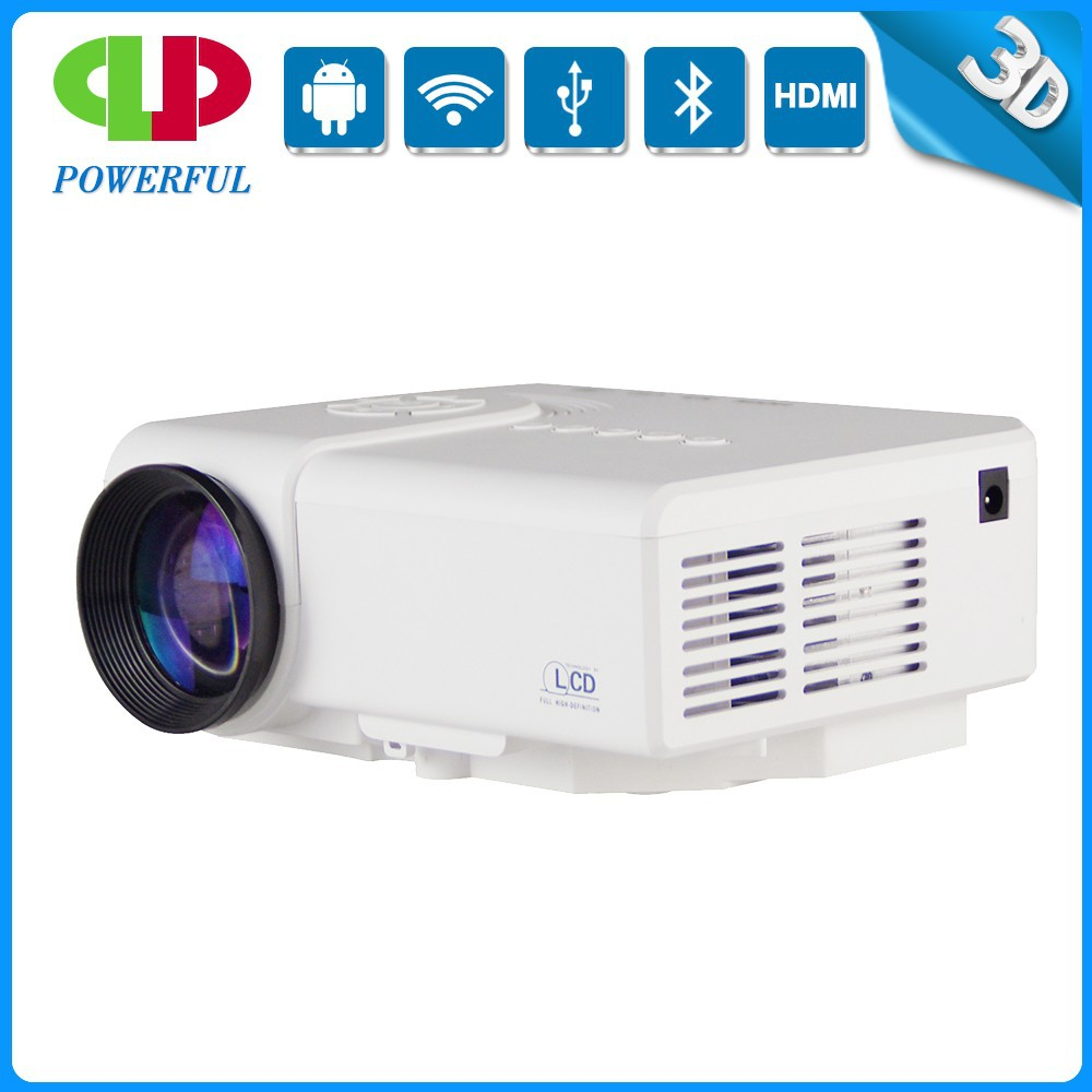 new led lcd low cost mini portable projector with hdmi. Black Bedroom Furniture Sets. Home Design Ideas