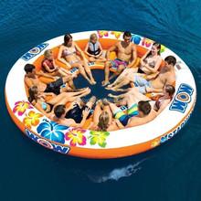 Stadium Islander 12 person floating inflatable raft