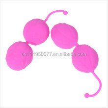 adult sex toys silicone double smart ball jump eggs for vagina stimulator