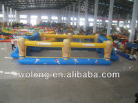 Factory Customized Inflatable Football Playground, Inflatable Soccer Field, Inflatable Soap Football Field
