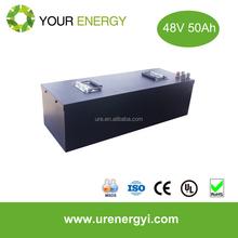24V/36V/48V/60v 20-50Ah ev li-ion battery pack with long cycle life
