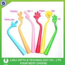 Promotional Silione Flexible Gesture Finger Pen