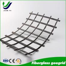 Competive price fiberglass geogrid certificate