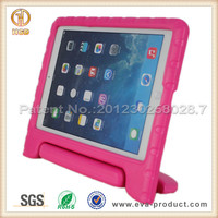 7 colors Anti Shock Childproof Plastic Stand case For iPad Air ,for apple ipad air 2