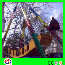 Most popular outdoor park amusement game of pirate ship