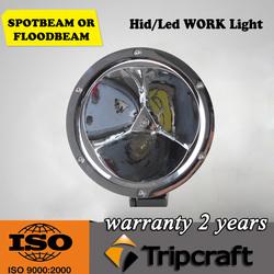 Hot sale Silver/black spotlight motorcycle/bike 45w suv LED work Light for 4WD SUV/Truck