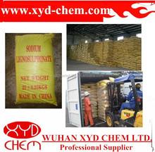 export yellow brown Sodium lignosulphonate SLS powder PH 8-10