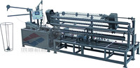 Factory sales, ISO9001, diamond wire mesh fence machine