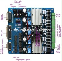 CNC Router 5 Axis TB6560 3.5A Stepper Motor Driver Board Controller for CNC Engarving