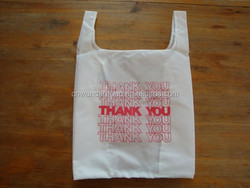 wd1692 The Thank You Bag Reusable Shopping Tote