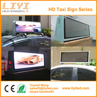 Ali Trade Assurance 3G WIFI GPS wireless P5 programmable led taxi roof top advertising display signs