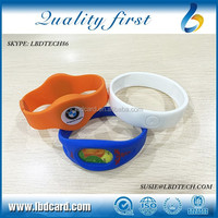 Free Samples Sillicone T5577 37bit I CODE SLI Access Control Bracelet/Wristband for Swimming Pool