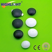 Highlight H014 eas secutity RF clothes Golf Tag anti theft shop security dome tag