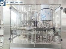 2 in 1 Fresh Milk filling and Sealing Machine For Glass Bottle / PET Bottle