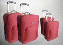 Trendy Ladies Jacquard Trolley Luggage Bag 2012